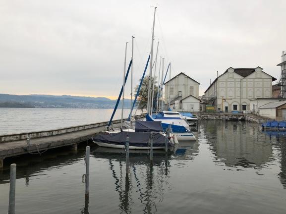 Serenity defined on Lake Zurich!