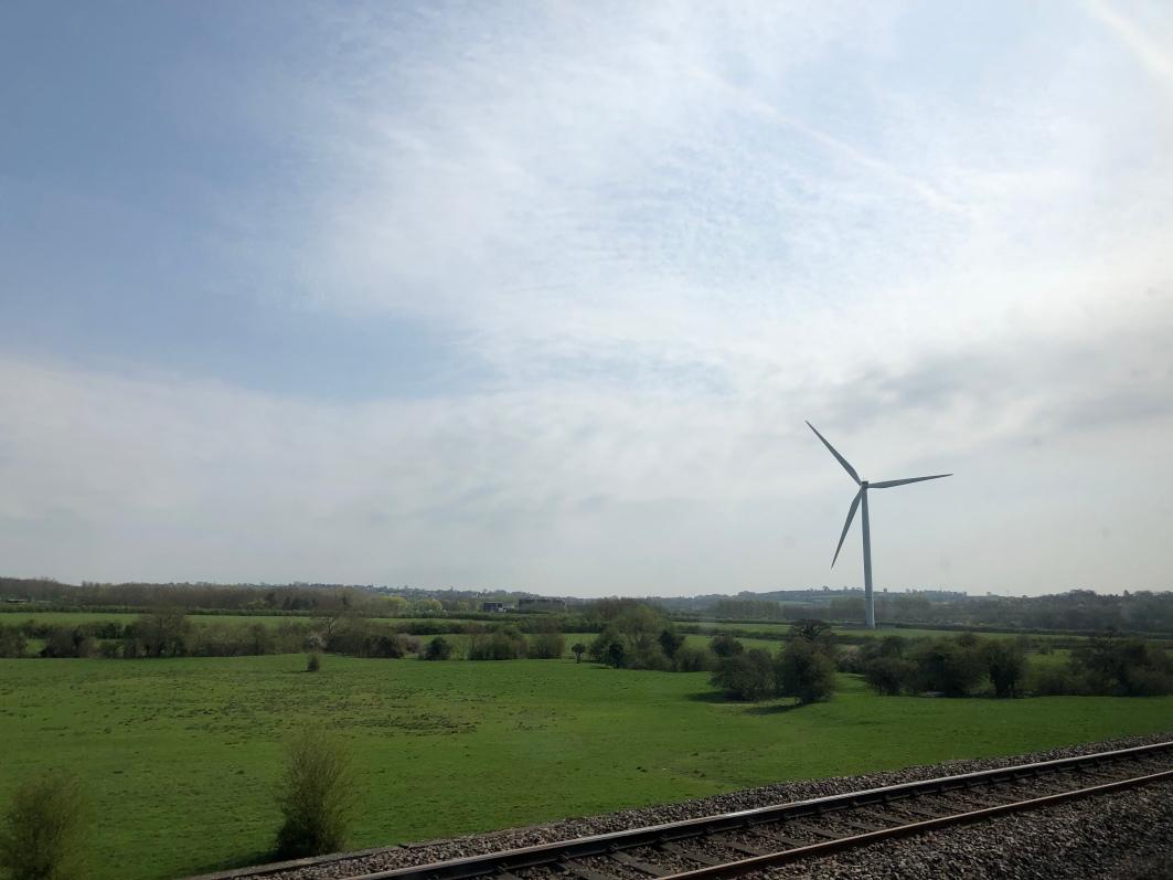 One of many windmills I see everywhere