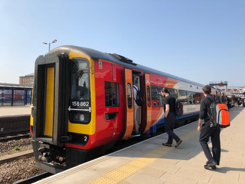 Train to Nottingham