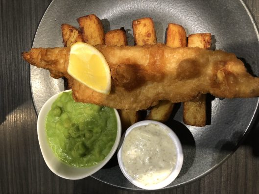 The famous Fish & Chips!