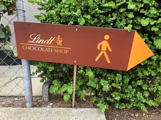 To the chocolate shop!