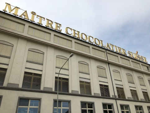 The Lindt & Sprüngli Swiss Chocolate Factory in Kilchberg, Switzerland