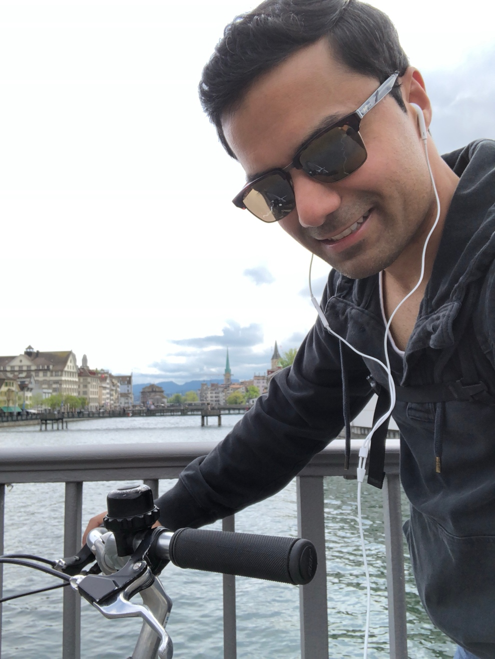 Cruising around Zurich