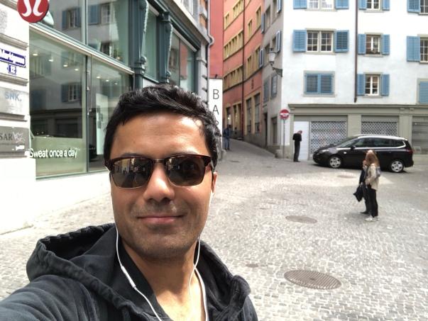 Cruising around Zurich