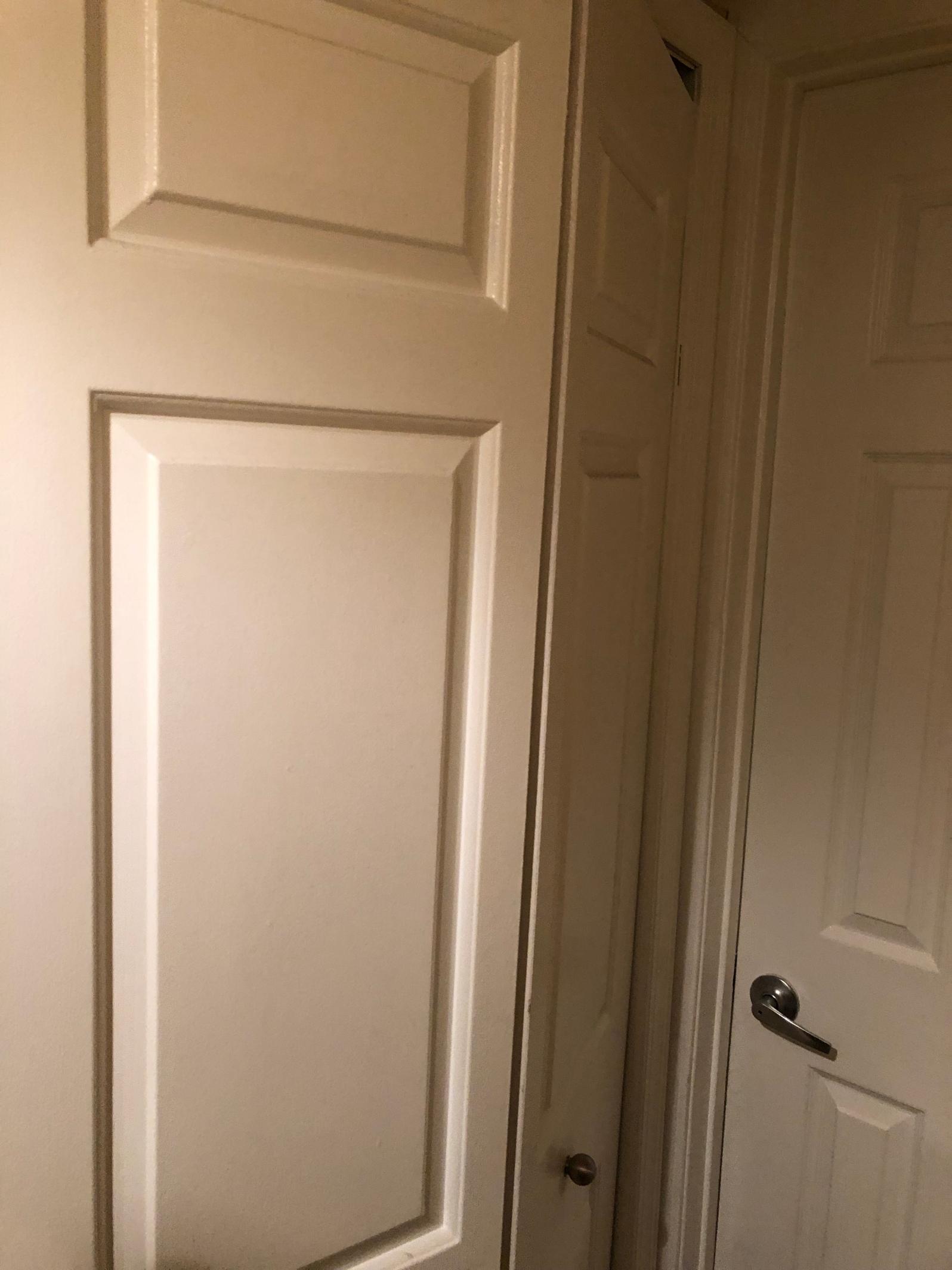 The original bi-fold door